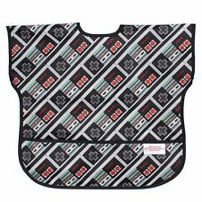 Bumkins Nintendo NES Game Controller Junior Bib (1-3 Years) Toddler Bib
