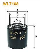 Wix Oil Filter WL7198 Suzuki SJ410