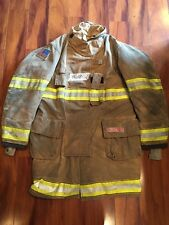 Firefighter Globe Turnout Bunker Coat 44x40 G Extreme Halloween Costume