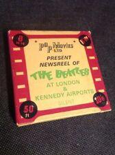Pop Movies The Beatles Vintage 8mm Newsreels Film London Kennedy Airports 1964-5