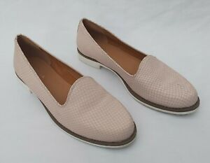 KURT GEIGER MINK (PINKY BROWN) LEATHER LOAFERS SHOES UK 6.5 - 7 FREE UK P&P!!