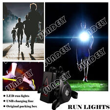Secuda Night Running Flashlight Usb Charge Chest Lamp Torch For Outdoor Sports