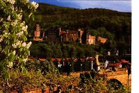 Heidelberg , Stadt der Geschichte  , Ansichtskarte,  gelaufen