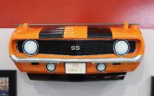 1969 Chevrolet Camaro SS Painted Resin Wall Decor w Glass Shelf 7580-12