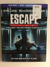 Escape Plan (Blu-ray/DVD, 2014, 2-Disc Set) NEW w/slipcover