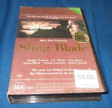SLING BLADE VHS PAL BILLY BOB THORNTON