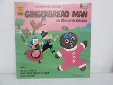1969 - WALT DISNEY - GINGERBREAD MAN STORY AND SONG LP RECORD - SEALED