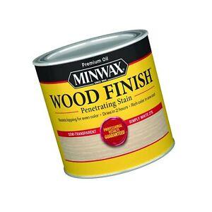 Minwax Wood Finish 227654444, Half Pint, Simply White