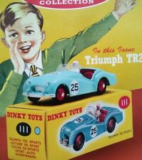 CLASSIC DINKY TOYS COLLECTION NO 1.TRIUMPH TR2 1955.NEW SEALED PLUS WELCOME PACK