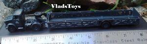 """Oxford 1/76 Bedford OX 1.5 Ton Truck w/""""Queen Mary"""" Trailer RAF Blue 76BD024"""