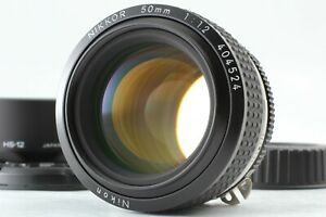 """SIC Version"" 【TOP MINT w/ Hood】 Nikon Ai-s Nikkor 50mm f/1.2 MF Lens From JAPAN"
