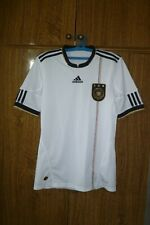 Germany Adidas Football Shirt Home 2010/2011/2012 Soccer Jersey White Men Size S