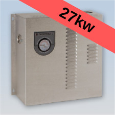 Thermolec 27kw electric hot water boiler radiant floor heating hydronic