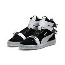 Puma x XO Suede Classic Sneakers Designed by The Weeknd (Men's 10 Black / White)