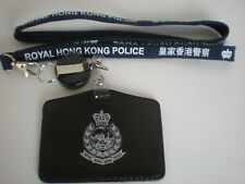 Neckstrap #5 - Royal Hong Kong Police Neckstrap & horizontal cardholder w/badge