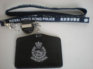 Neckstrap #1C - R. H. K. P. Neckstrap & horizontal cardholder w/badge