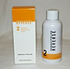 Rodan and Fields Reverse Step 2 Intensive Brightening Toner 4.2 oz New Sealed