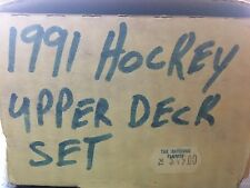 1990-91 Upper Deck Hockey Cards Complete Set of 400 Cards w/ Superstar holograms