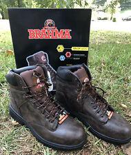 Brahma Men's Raid Steel Toe Work Boot Brown  Size 12 US / 30 MEX