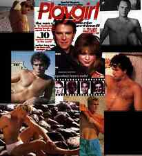 PLAYGIRL 5-86 CELEB NUDE YUL BRYNNER HAIRY BERTINELLI MACGUYER MAY 1986  see YUL