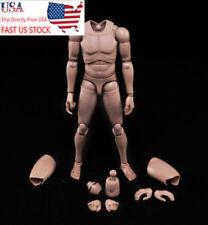 US Stock MX02-A 1/6 Scale Europe Skin Male Figure Body Model Fit 1/6 Headsculpt