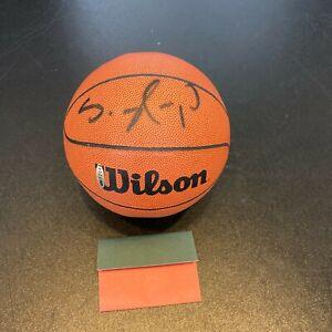 Shawn Kemp Signed Autographed Wilson Mini Basketball With Upper Deck UDA COA