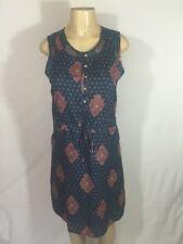NWT Lucky Brand Sleveless Dress Modal Blend Size S Teal