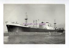 c1644 - Stanhope SS Co Cargo Ship - Stanburn , built 1951 - photograph A Duncan