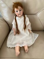 Antique Doll German Armand Marseille AM 390 A5M 1920s Bisque Composition 21in