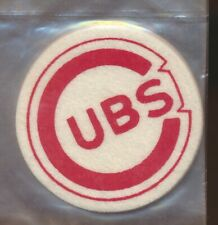 Chicago Cubs Vintage Felt Patch Sticker - New in Package