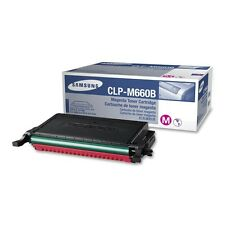 Genuine Samsung CLP-M660B 5000 Page Magenta Toner for CLP-610/CLP-660