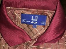 Dunhill Golf M short sleeve Made In Italy Nwot High Quality $