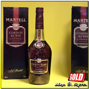 Cognac ✺ MARTELL ✺ CORDON RUBIS ✺ J&F Martell Reserve ~ 70 cl & Original Box