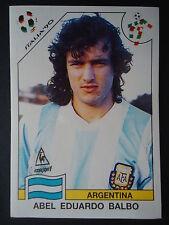 Panini 226 Abel Eduardo Balbo Argentina WM 90 World Cup Story
