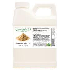16 fl oz Wheat Germ Carrier Oil (100% Pure & Natural) Plastic Jug