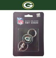 Green Bay Packers Football Team Logo NFL Quick Release Key chain