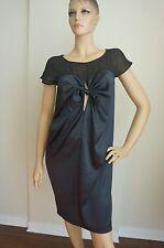 Diesel Black Gold Black Silk Dress Sz IT44/US 8/M