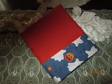 COUNTRY COTTAGE A SPOOKY HALLOWEEN NIGHT OF JACK-O-LANTERNS & GHOSTS PILLOWCASE
