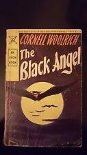 """Cornell Woolrich, """"Black Angel,"""" 1946, Avon 96, VG/VG-, 1st"""