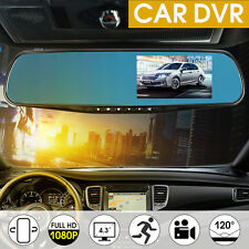 4.3'' 1080P HD DVR LCD Car Vehicle Rear View Mirror Camera Video Cam Recorder