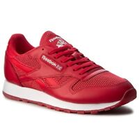 Reebok Classic CL Leather NM Sizes 10.5-12 Red RRP £80 BNIB BD4760