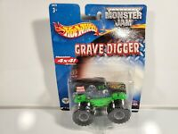 2001 HOT WHEELS MONSTER JAM 1/64 GRAVE DIGGER #21572 NIP New