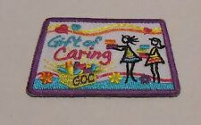 Girl Scouts 2012-2013 Cookie Sales Gift of Caring Patch - NEW!