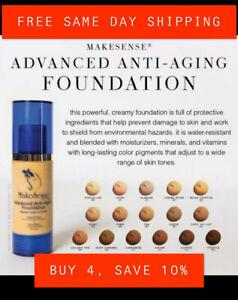 🍂*FALL SALE*🍂 MAKESENSE *NEW* Advanced Anti Aging Foundation SENEGENCE AAA