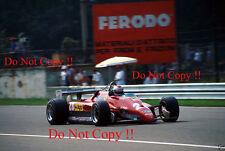 Mario Andretti Ferrari 126 C2 Italian Grand Prix 1982 Photograph 6