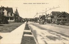 Postcard New Jersey Point Pleasant Beach Forman Ave. Ocean County 1942
