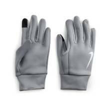 Nike Thermal Gloves Medium Gray Thermal Insulated Touch Screen Capable NWT