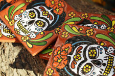 2~Talavera Mexican Tile Mosaic Day of the Dead / Frida kahlo Tiles