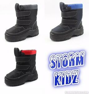 Storm Kidz Cold Weather Kid's Snow Boots Lot of 75 Pairs