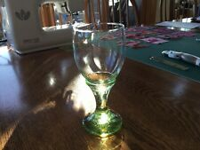 Fire And Light Recycled OLiVE Signed Wine Goblet